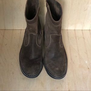 Fly London 39 US 8.5 9 Brown Leather Boots